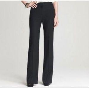 JCrew Hutton Trouser BLACK 120's Wool size